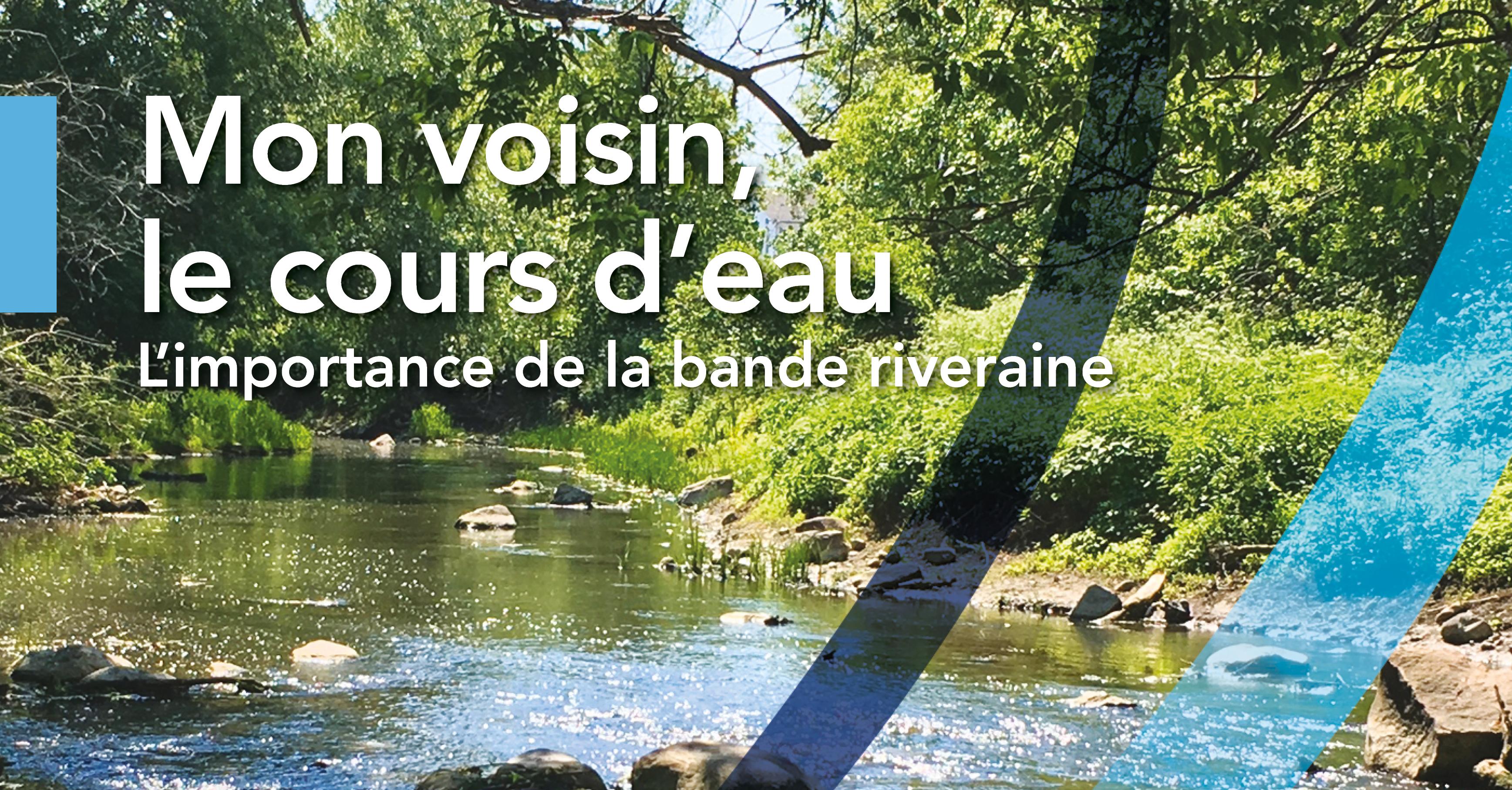 Gardons nos cours d'eau en santé dans Roussillon!