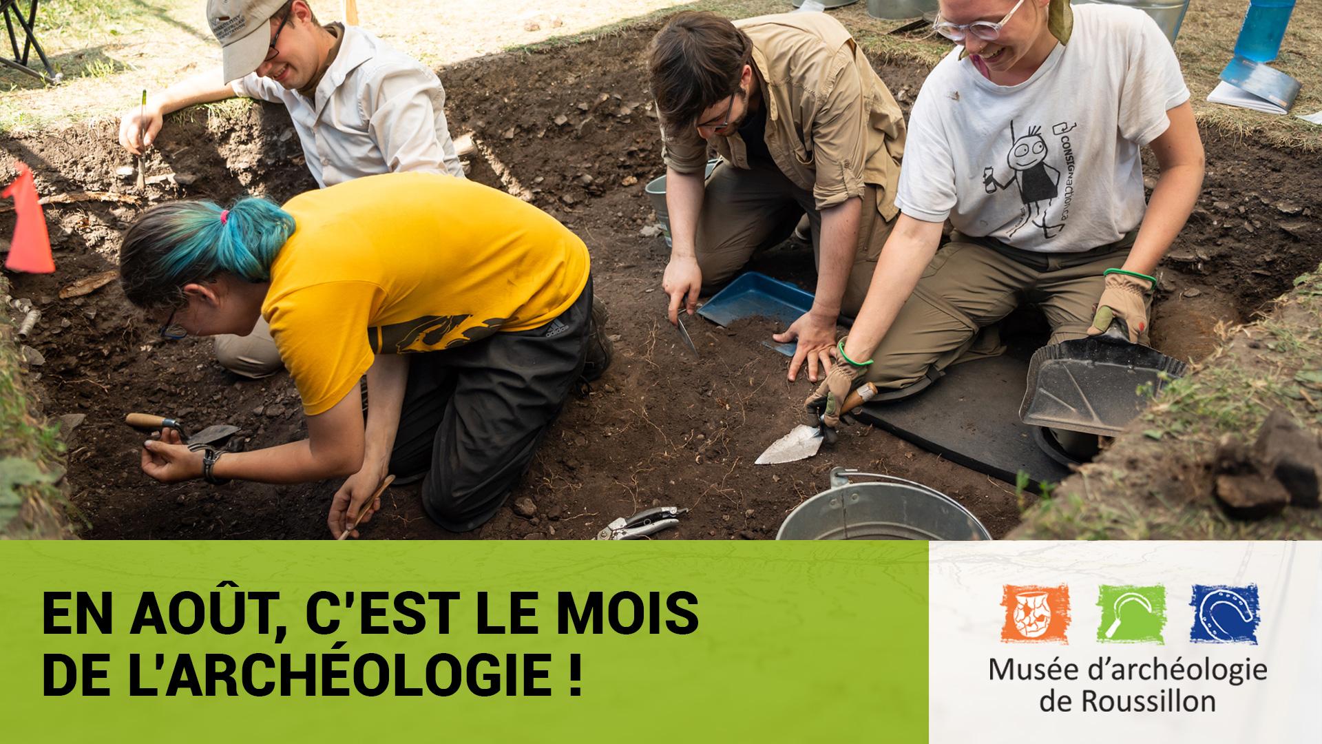 Le Musée souligne le mois de l'archéologie